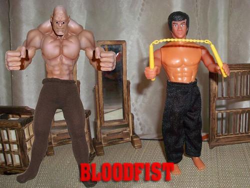 Bloodfist Michael Berryman Toys