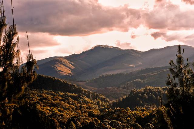 Em algum lugar no caminho de terra entre Gonçalves-Monte Verde/MG