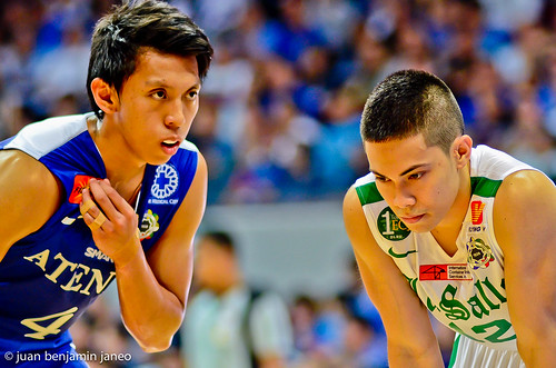 UAAP Season 75: Ateneo Blue Eagles vs. De La Salle Green Archers, July 28