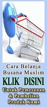 cara belanja pakaian muslim