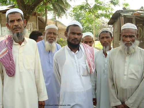 Assam, the state with the highest percentage of Muslim population (34%) in India