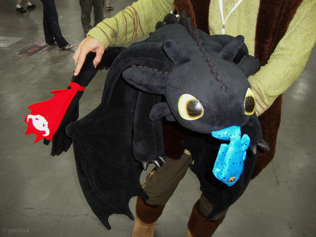 Toothless Amp Hiccup A Custom Made Stuffed Toy Of