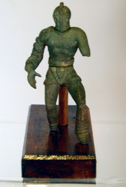 Gladiator Bronze Figurines A Gallery On Flickr