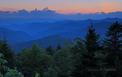 Nantahala Sunset  (Explore 8/3/2012)