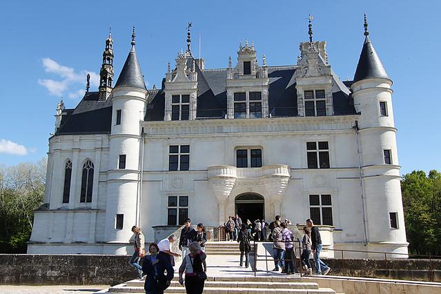Château de Chenonceau main entrance