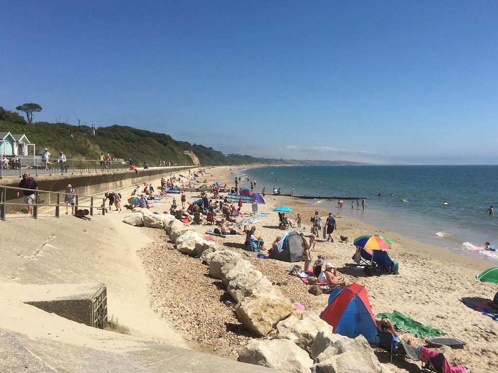 Avon Beach Barton to Bournemouth walk