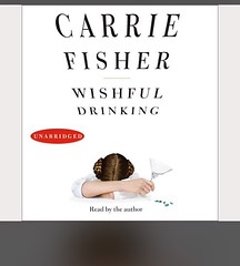 Loving this. #carriefisher, #audiobook, #booksofinstagram