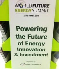 WFES Abu Dhabi - World Future Energy Summit 2015