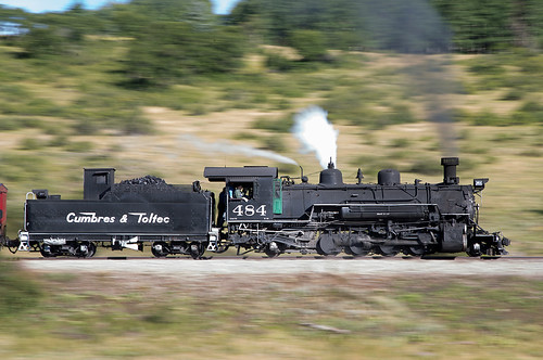 282 baldwin1925 cts484 chama cumbrestoltecscenicrailroad drgw484 denverriograndewestern engineerfiremanschooltrain highway17crossing k36 newmexico rioarribacounty unitedstates us steamlocomotive railroad steamengine steamtrain scenicrailroad touristtrain heritagerailroad