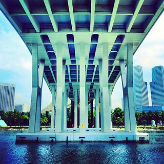Cityscape. Under The Bridge #sgmemory #archivingsg