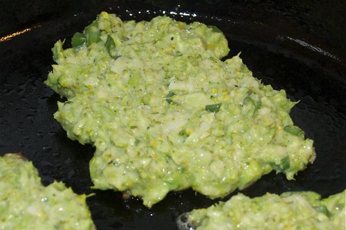 fritters/broccoli 3