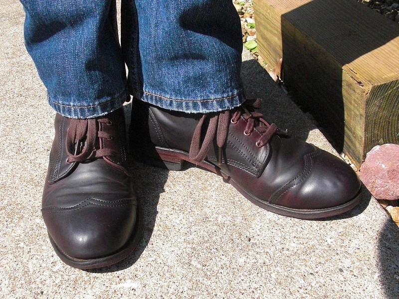 Wolverine 721LTD Oxblood