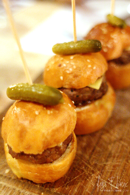 Beef Sliders, The Duck Inn