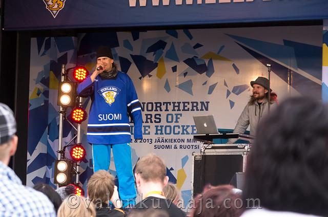 Poju - Suomi kiekko kiertue 2012 - Hämeenlinna