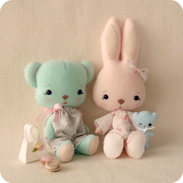 biscuit bear, bunnycup and tedward