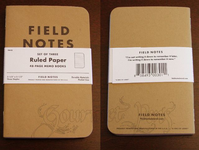 Field Notes Outside