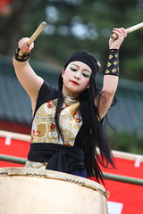 Taiko drum player
