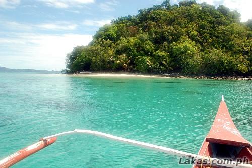 Approaching Paradise Island