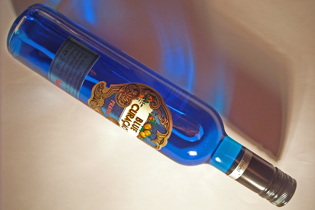 Blue Curacao - lighting 1