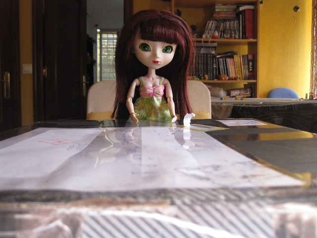 Maia Abre el paquete