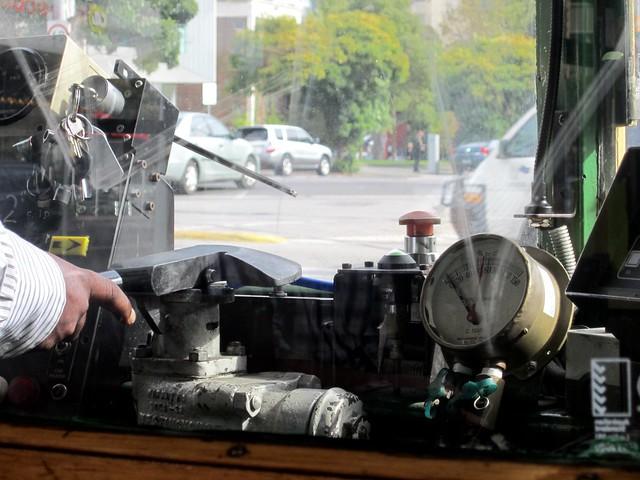 W-class tram controls