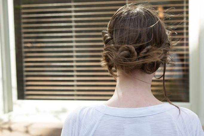 Twisty Bun Hair