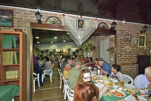 Cruz de Mayo 2012 y comida Asociación de vecino El Pueblo