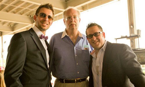 Greg Rollett, Nick Nanton and Dan Kennedy at 2012 Kentucky Derby