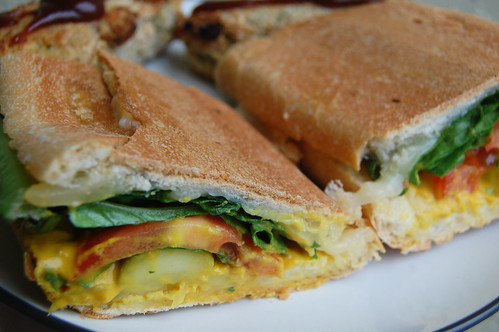 Vegetarian Cuban and Baked Pickles