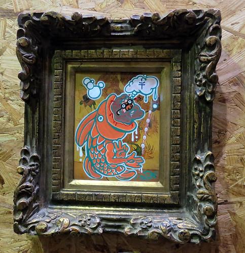 AAN 006 Jesus Fish by Sean McCarthy - oil
