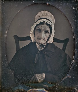 Methuselah's Daughter, 1/6th-Plate Daguerreotype, Circa 1848