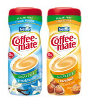 Nestle Coffee-mate Flavored Powder Creamer, 15oz. Coupon