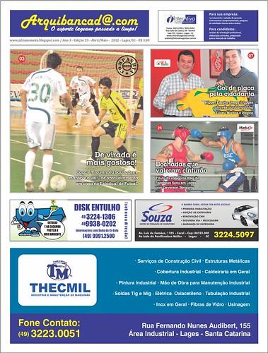 Jornal Arquibancada abril/maio 2012 - Edição nº33