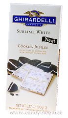 Ghirardelli Sublime White Cookies Jubilee