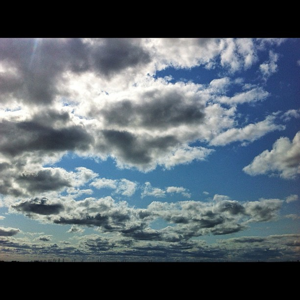 Clouds #iphone4 #nature #snapseed #landscape #clouds