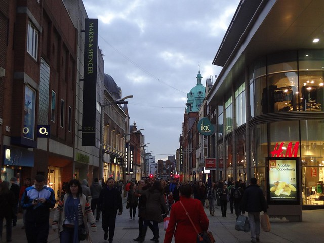Fotografias de Dublin by Night, Irlanda