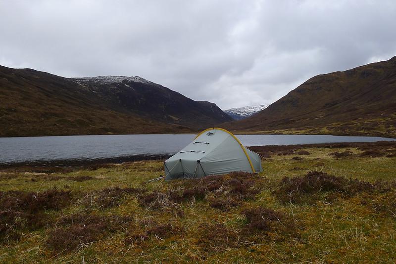 Wild Camping in Glen Orrin