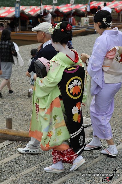Photo:Maiko and attendance By Christian Kaden
