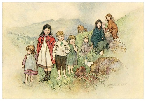 013-Los niños lisconnel-Irish ways-1909-ilustraciones de Warwick Goble