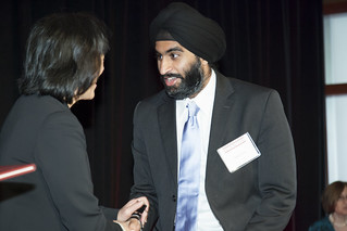 Gurwin Ahuja honored as a Pace Setter