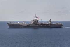 In this file photo, USS Blue Ridge (LCC 19) operates in the South China Sea in May 2012. (U.S. Navy photo by Mass Communication Specialist 2nd Class Jason Behnke)