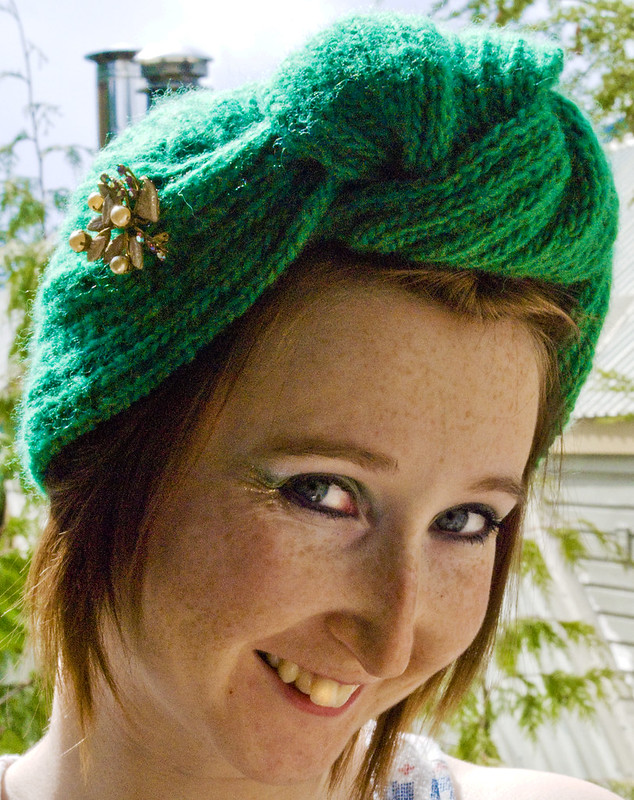 Anna Knitty's Turban
