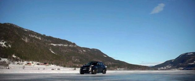 The Nissan Juke-R - Norway Ice Track