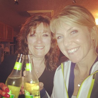 First ever cheers with my mom. #lightcider