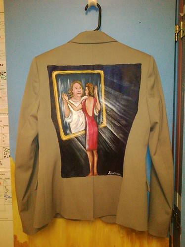 Inside the Mirror a jacket for Melinda Watman