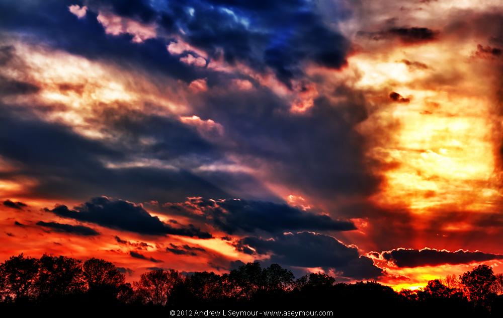 Day 13 - 20120501 sunset Shamona Creek es hdr 33