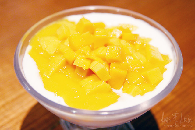 Mango, Saigo, Coconut Milk, Y M House