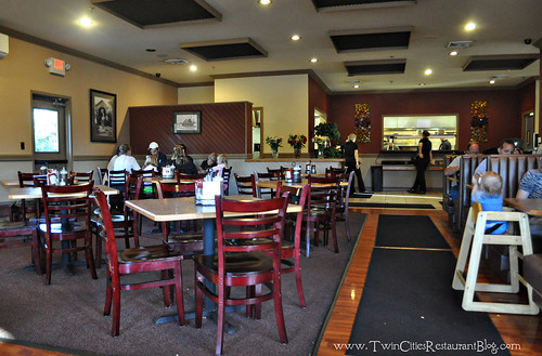Dining Room at The Smokin' Oak Rotisserie & Grill ~ Red Wing, MN