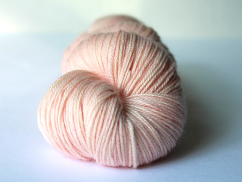 Blush - Kettle Dyed BFL Sock Yarn