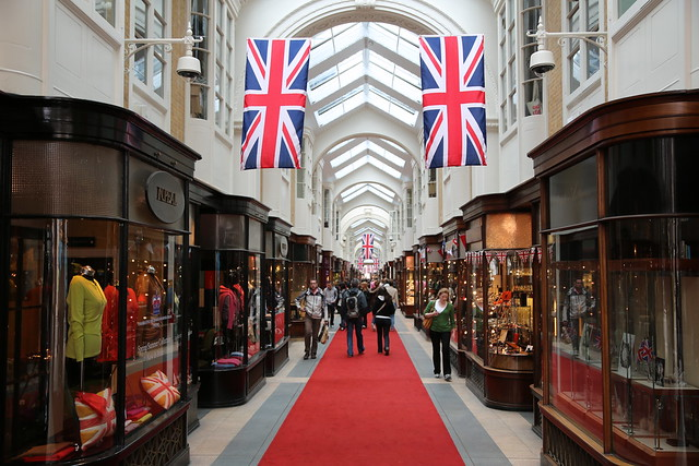 Jubilee in Mayfair - Burlington Arcade